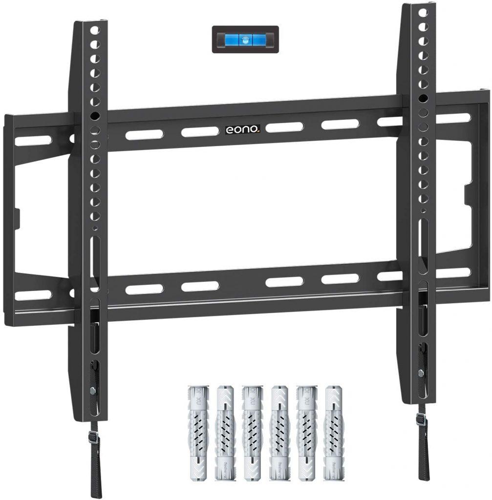 Soporte de tv de pared Eono by amazon fijo para pantallas de hasta 55 pulgadas. Televisores plasma, soporte tv pared, soporte tv amazon