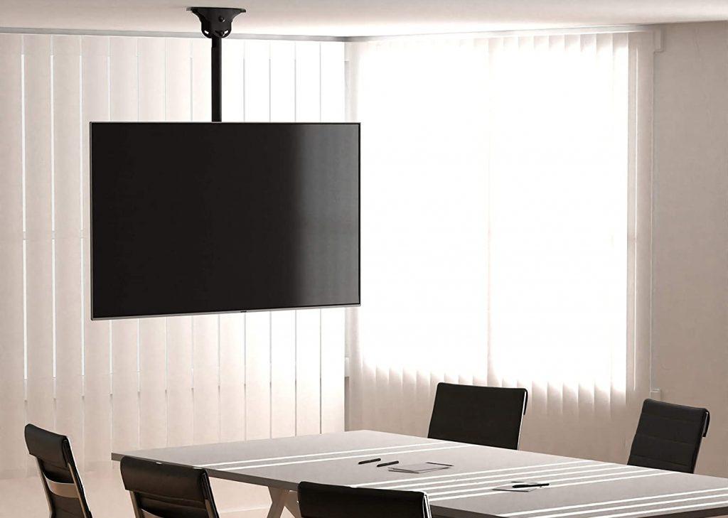 Soporte de tv de techo para sala de reuniones como instalar soporte de tv en el techo
