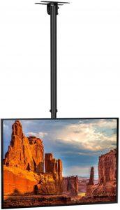 Soportes de Techo para tv SIMBR con altura ajustable para pantallas de plasma, led, lcd oled hasta 50 kg y 55 pulgadas