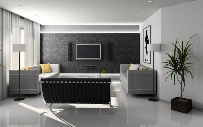 Habitación acogedora, tv anclado a la pared con soporte tv, somos tv online, soporte pared tv xiaomi, soporte pared television
