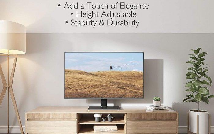 soporte tv pie, mueble para tv minimalista, soporte de tv de pie